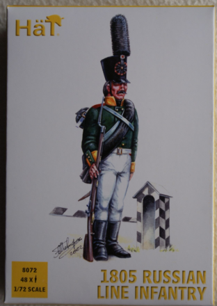 HaT 1/72 HAT8072 Russian Line Infantry 1805 (Napoleonic)